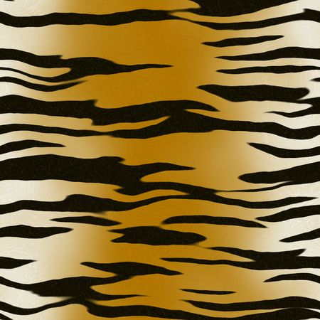 tiger stripes background, will tile seamlessly as a pattern Stock Photo