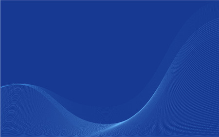 blue wavy organic wallpaper, also suitable as business cards  Stock Vector - 3853773