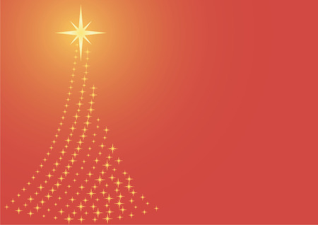 Christmas  Xmas tree background Vector