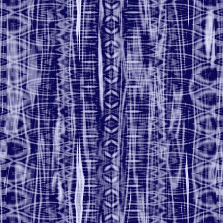 blue purple batik texture that tiles seamlessly as a pattern Stock Photo