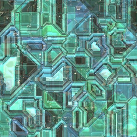 cyber grunge background, will tile seamlessly as a pattern   photo