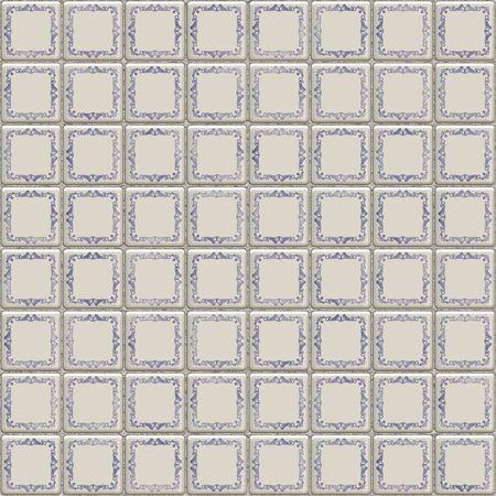 dutch tiles: dutch ceramic tiles, tillable seamlessly as a pattern