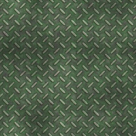 mossy, grungy metal diamond plate, seamlessly tillable Stock Photo - 3905419