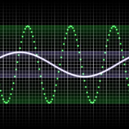 digitally created sound wave pattern, seamlessly tillable Stock Photo - 3905290