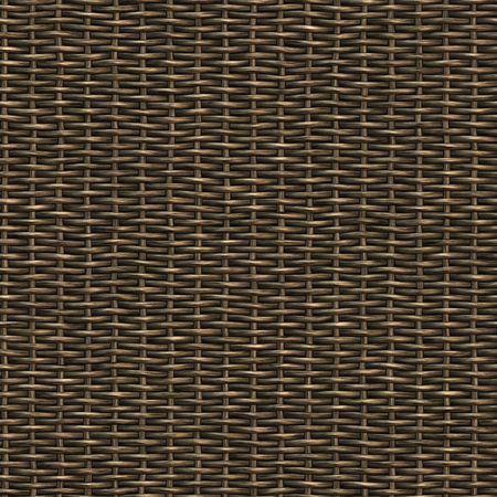 wicker basket weaving pattern, seamless texture for background Stock Photo - 3905403