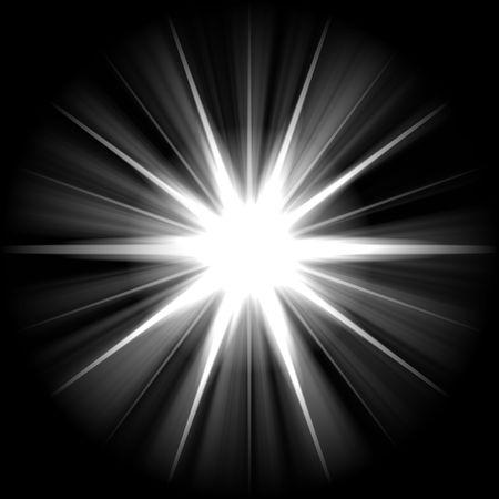 supernova: white blue star or supernova over black