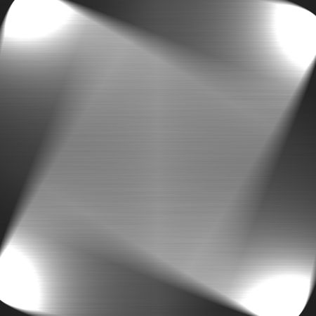 brushed metal background with four spot lights and copy space Stock Photo - 4014990