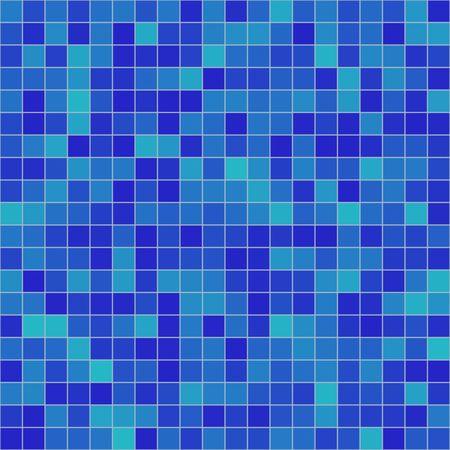 seamless tileable background of bathroom or swimming pool tiles or wall Stock Photo - 4014962
