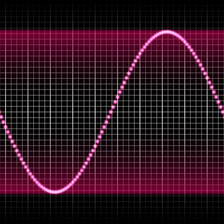 tillable: digitally created sound wave pattern, seamlessly tillable