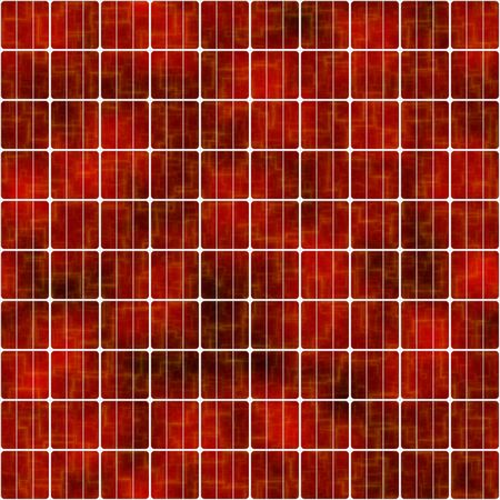 voltaic: red solar cells background, tiles seamlessly as a pattern
