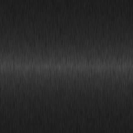 brushed steel: black brushed metal background with central highlight
