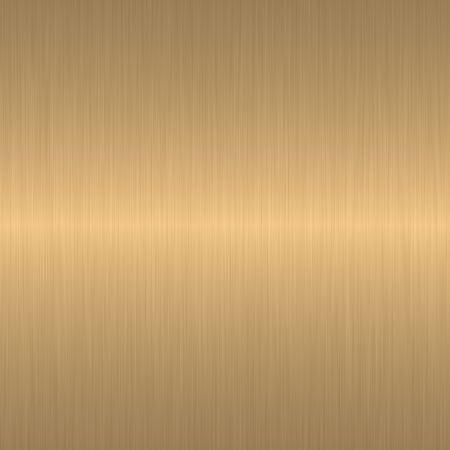 golden brushed metal background with smooth central horizontal highlight Stock Photo - 4345709