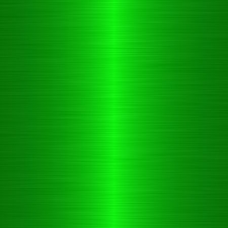 neon green brushed metal background with vertical highlight Stock Photo