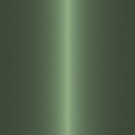 silvery: green brushed metal background with vertical highlight