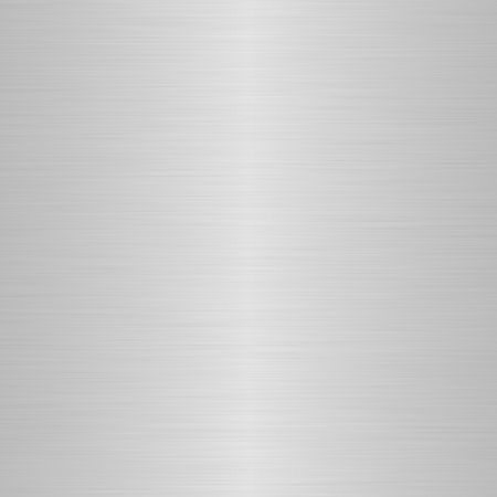 durability: brushed silver metallic background with central highlight