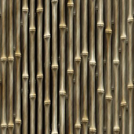 beige bamboo background, tiles seamless as a pattern Stock Photo