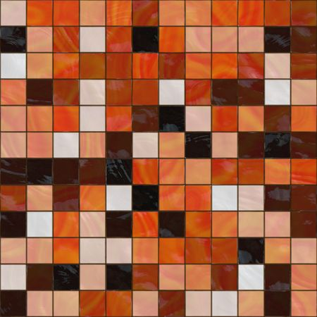tillable: ceramic tiles in warm colors, seamlessly tillable