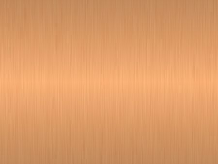 brushed copper metal texture background photo