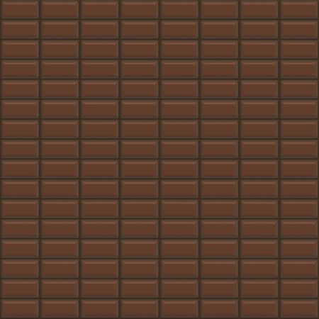 chocoholic: chocolate bars forming a seamless pattern