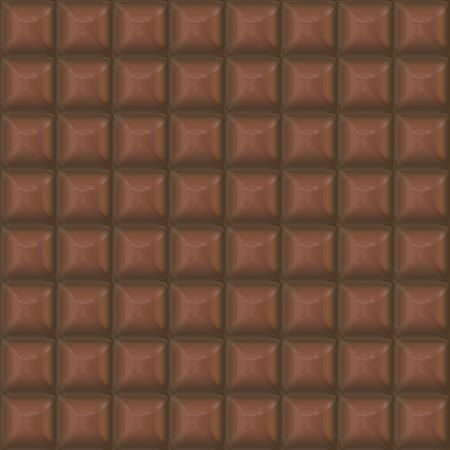 chocolate bar: chocolate squares background, tiles seamless as a pattern