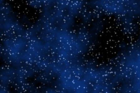 dreamy blue nebula and stars sky background Stock Photo - 6343017