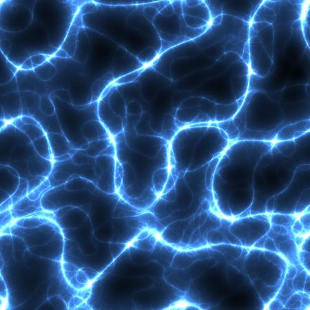 blue electricity background that tiles seamless in all directions photo