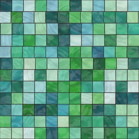 flooring: green glassy tiles background that tiles seamless in all directions