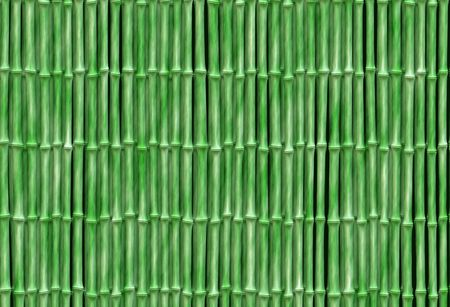 small bamboo background texture with aligned, regular, green stalks Stock Photo - 7109217