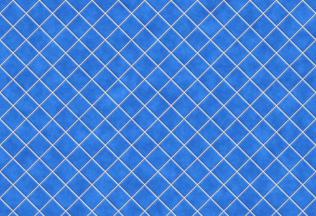 Blue tiles texture background, kitchen or bathroom concept photo