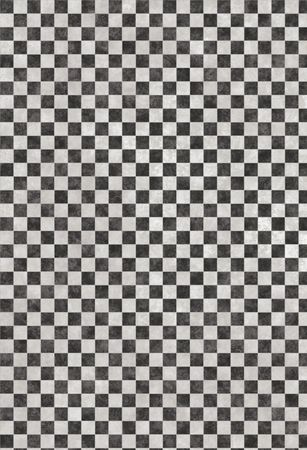 chess or checkers background texture in black and white photo