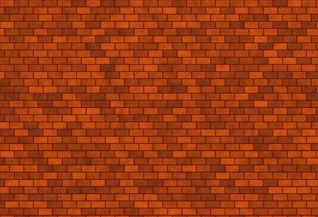 dark red brick wall background texture in different tones photo