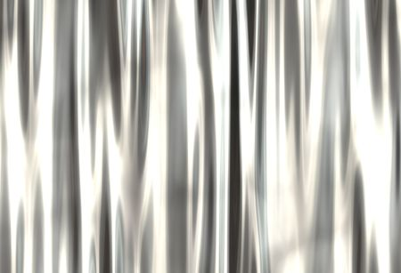silver: grunge metal curtain with highlights Stock Photo