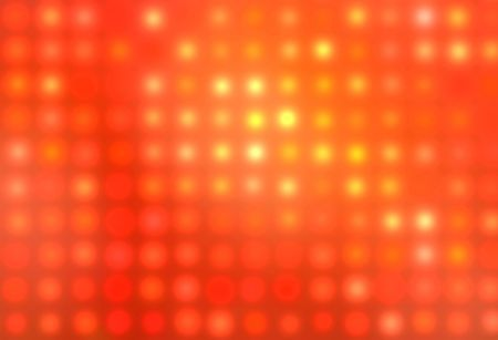Abstract background with orange and red glowing dots photo