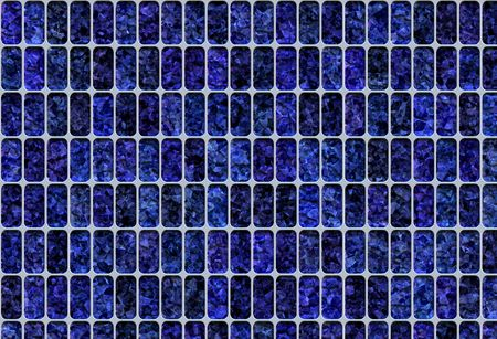electric cell: blue solar panel abstract background texture