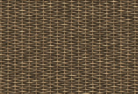 abstract woven wicker background texture photo