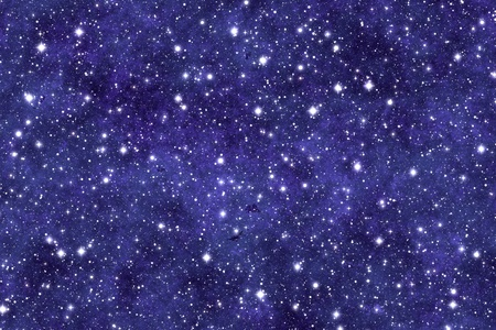 Night sky wallpaper with many stars and dreamy effect. Stock Photo - 9183013