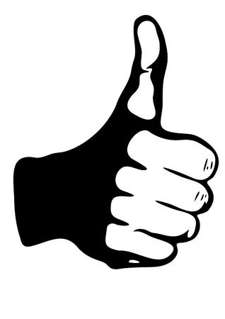 fist up: Thumb up