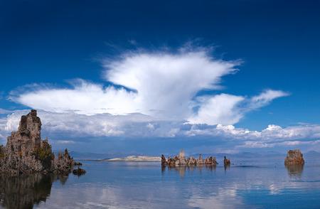 Mono Lake Tufa Imagens