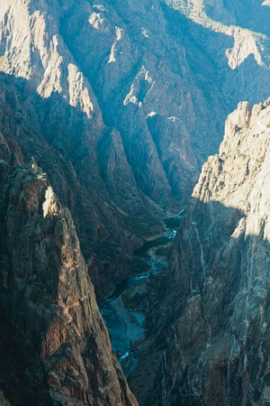 Black Canyon of Gunnison, Painted Rock
