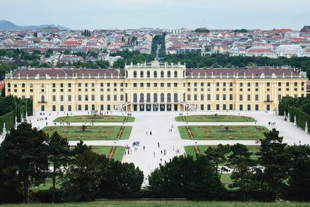 Overview of Schonbrunn Palace, Vienna
