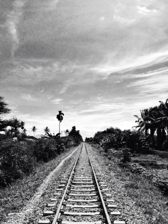 vanishing: Vanishing railway point