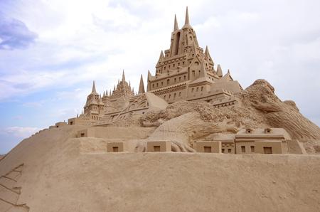 sandcastle Stok Fotoğraf - 100006383
