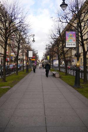 sky line: Saint-Petersburg in autumn - sky line