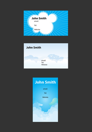 Business cards background Vector