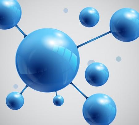 Abstract Spheres, molecule Stock Vector - 19020649