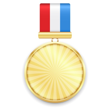 Gold Medal.  Illustration