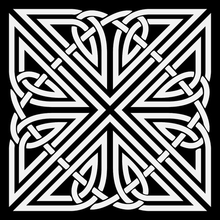 english countryside: Celtic ornament