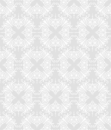 seamless floral damask pattern for wedding invitation or vintage abstract background