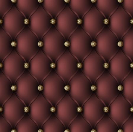 Vector illustration of red upholstery seamless pattern Illustration
