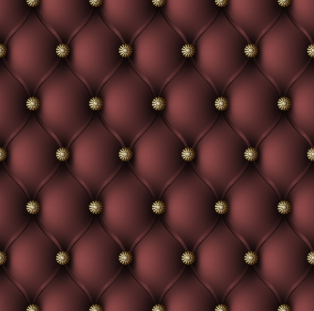 upholstered: Vector illustration of red upholstery seamless pattern Illustration